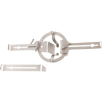 Miltex O'Sullivan-O'Connor Self-Retaining Vaginal Retractor with 3 Interchangeable Blades