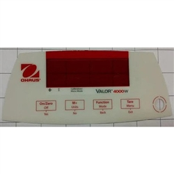 Ohaus 30028582 Function Label Front EN V41