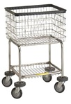 R&B Deluxe Elevated Laundry Cart