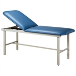 Clinton Alpha Series Treatment Table with H-Brace