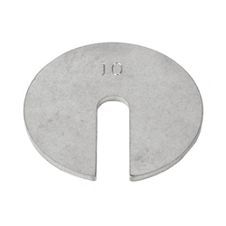 Ohaus 30390771 10g Slotted Weight Metric with Class 7