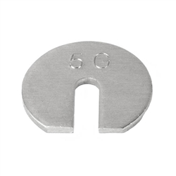 Ohaus 30390772 5g Slotted Weight Metric with Class 7