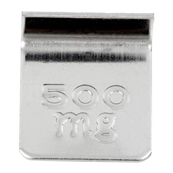 Ohaus 500mg Class 7 Economical Stainless Steel Cylindrical Weight with Traceable Certificate