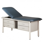 Alpha Series Straight Line Treatment Table with 4 Drawers