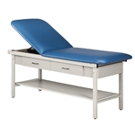 Alpha Series Straight Line Treatment Table with Drawers