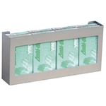 Omnimed Quadruple Stainless Steel Glove Box Holder