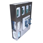 Omnimed Medical Isolation Station - Stainless Steel