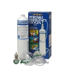 15 minute Disposable Emergency Oxygen Kit