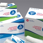 Stretch Gauze Bandage Roll (Non-Sterile) Clean Wrap, 500/cs,3""