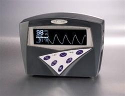 Bedside Pulse Oximeter with Waveform LCD