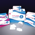 Dental Cotton Rolls (Non-Sterile) # 2 Med - 10/2000/Cs