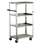 Lakeside Standard Duty, 4 Shelf, Compact Utility Cart