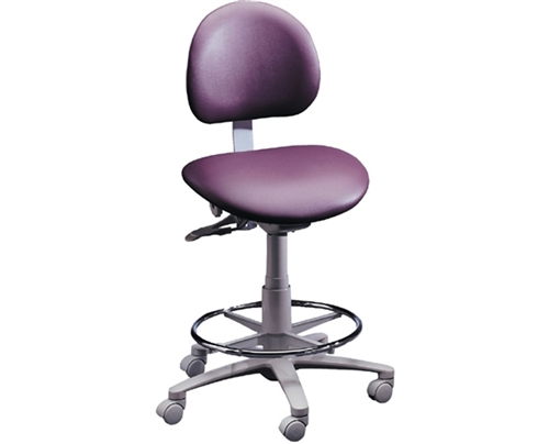 Magnificent Brewer 3335Bfr Dental Operator Stool W Adjustable Footring Creativecarmelina Interior Chair Design Creativecarmelinacom
