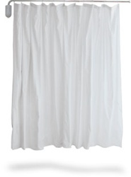 Winco Privess Swing-Away Privacy Screen w/ Standard White Vinyl