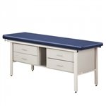 Clinton 3400 Flat Top ETA Alpha S-Series Treatment Table w/ 4 Drawers