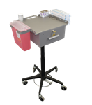 Omnimed Phlebotomy Cart