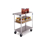 Lakeside Medium Duty, 3 Shelf, Medium Utility Cart, Tall