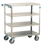 Lakeside Medium Duty, 4 Shelf, Medium Utility Cart