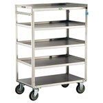 Lakeside Medium Duty, 5 Shelf, Medium Utility Cart