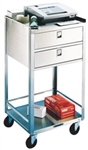 Lakeside Mobile Equipment Stand w/2 Drawers