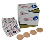"Sheer Adhesive Bandages, Strips 1"" x 3"", Sterile 24/100/Cs"