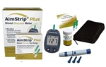 AimStrip Plus, Blood Glucose Meter Kit