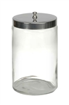 Mabis Unlabeled Clear Sundry Jar