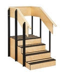 Clinton One-Sided Staircase