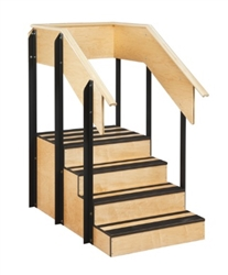 One-Sided Staircase