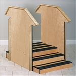 Small Straight Value Staircase with Full Sides