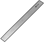 "Sklar Mini Lambotte Osteotome 5"" Straight, 3mm"