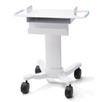 Welch Allyn Pediatric Scale Mobile Stand 455x455 for Scale-Tronix 4802D Pediatric/Infant Scale.