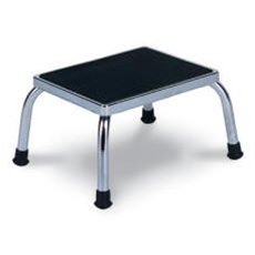 Winco Chrome Steel Footstool, 5/box