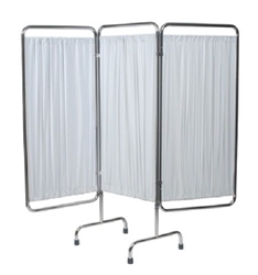 GF Medical 4296W 3-Panel Privacy Screen