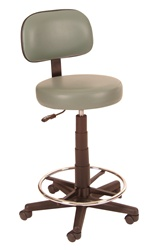 Winco Gas Lift Lab Stool
