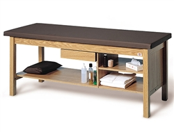 4541 Professional Treatment Table w/ Three Shelves