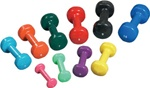 Clinton Vinyl Coated Dumbbells