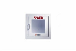 AED Wall Cabinet Surface Mount with Alarm (Security Enabled)