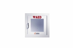 AED Wall Cabinet: Fully-Recessed