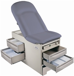 Brewer Access Exam Table with Electrical Outlet