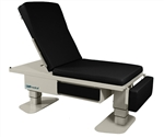 "UMF Bariatric Power Exam Table (Standard Premium Top) Low Access (18""), 600 lb capacity Hi-Lo and Power Back, 2 Function Hand Control"
