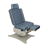 "UMF Power Hi-Lo & Manual Back Exam Table (Std. Premium Top), Low Access (19"") 600 lb. capacity, 1 Function Foot Control"