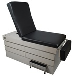 UMF Bariatric Exam Table with Power Back (Standard Premium Top) 800 lb capacity 1 Function Hand Control