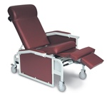 Winco Drop Arm Convalescent Recliner (3-Positions / No Tray)