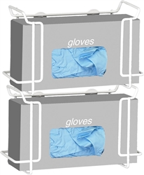 R&B Double Wire Glove Box Dispenser