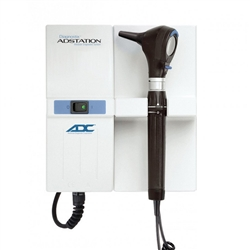 ADC Adstation 3.5v Wall Otoscope