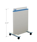 Wolf X-Ray Mobile Adjustable Height Barrier