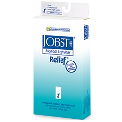 Jobst Relief Medical Legwear, Thigh High Open Toe