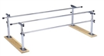 Bailey 597W Folding Parallel Bars with Wood Base