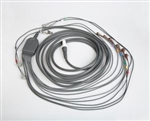 "Burdick Patient Cable for Q-Stress and Heartstride, 43"" Leads, Snap"